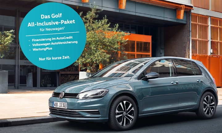 VW Golf All Inclusive Paket